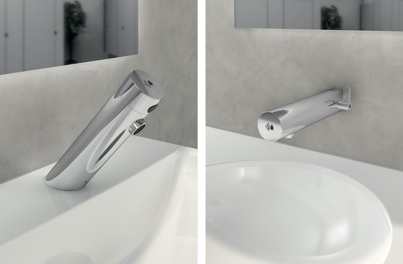 Easy to install touchless taps