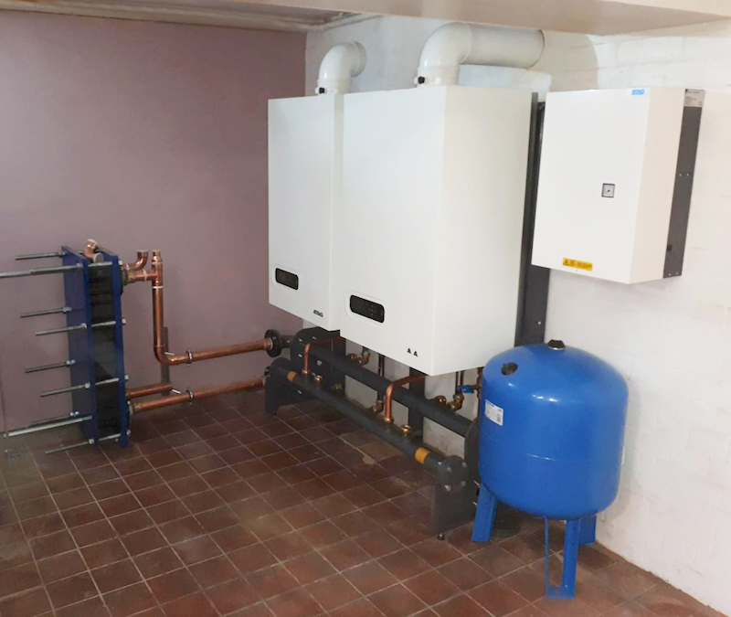 ATAG Commercial generously donates boiler to Leicestershire charity