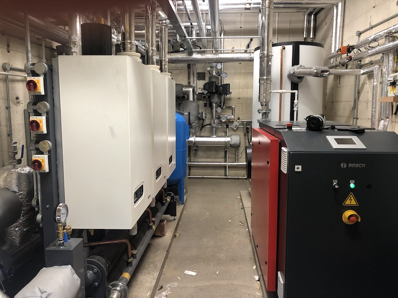 ATAG COMMERCIAL BOILERS FITTED AS PART OF CARE HOME RENOVATION