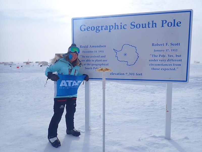 Sign up to ATAG webinar hosted by Antarctic adventurer