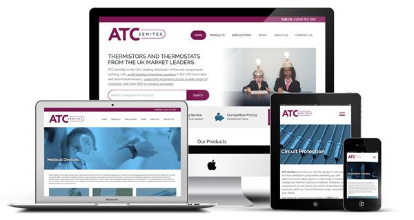 ATC SEMITEC launches new website