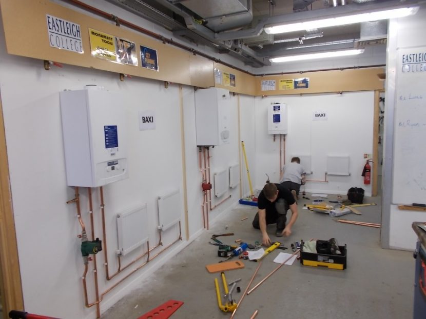 Apprentice support for Midlands based Baxi installers