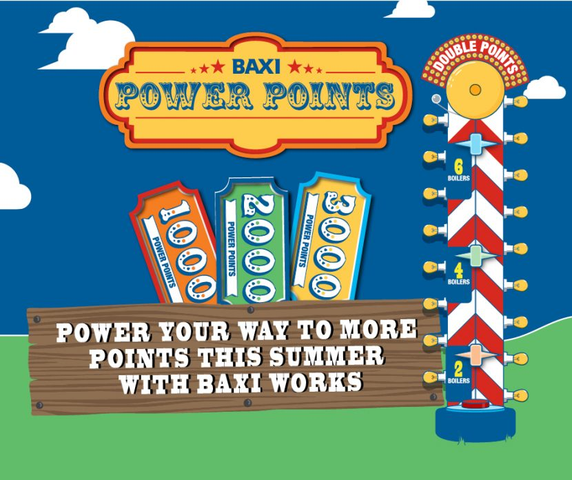 More rewards from Baxi's summer points promotion