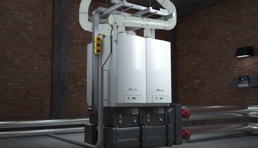 Bosch enhances GB162 light commercial boiler