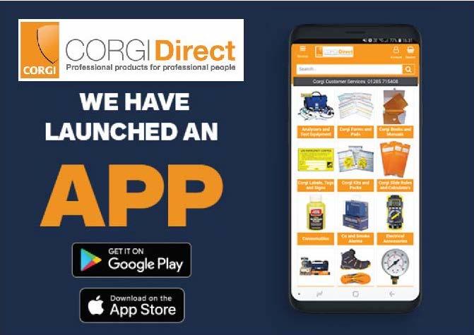New Corgi Direct app