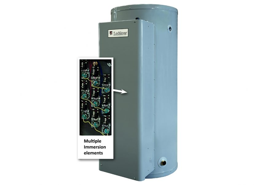 Electric water heating range