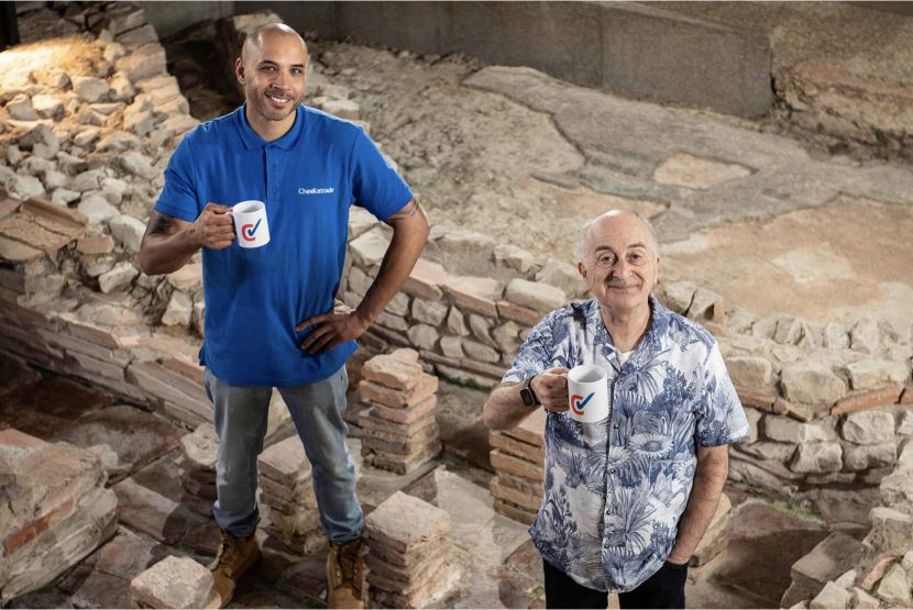 Sir Tony Robinson finds out what the Romans did for us