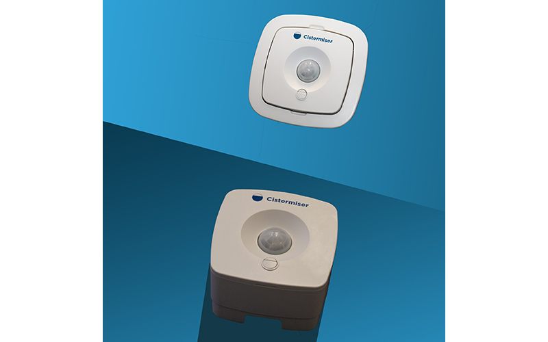 New look for Cistermiser's infrared urinal flushing control valve