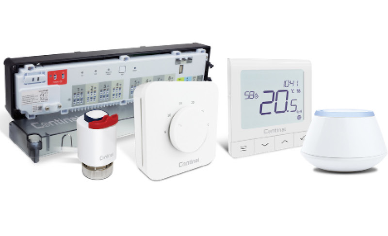Easy to use and stylish UFH controls