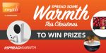 Win a top prize with a warming story