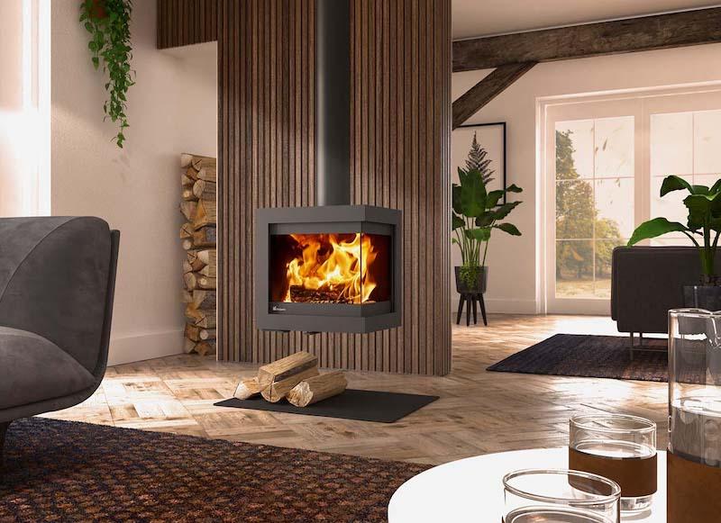 Dik Geurts Bora Corner stoves