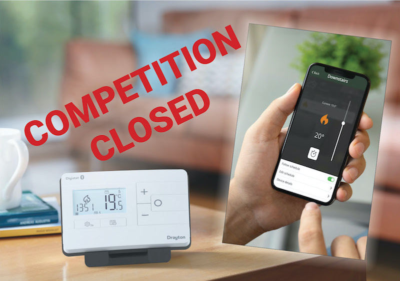 Win one of 10 Digistats from Drayton