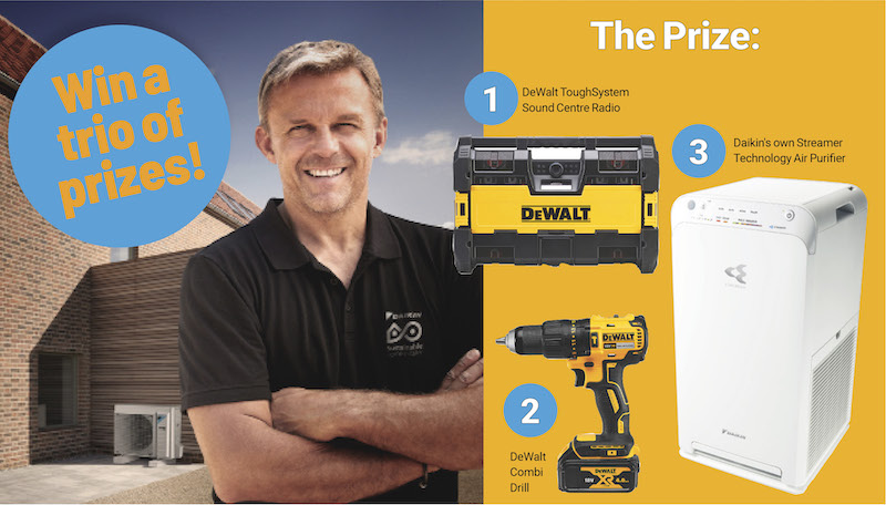 Win a prize package from Daikin