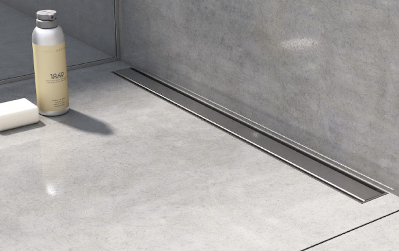 Wetroom kit works with variety of floors
