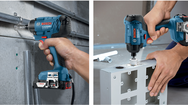 Bosch driver makes a real impact