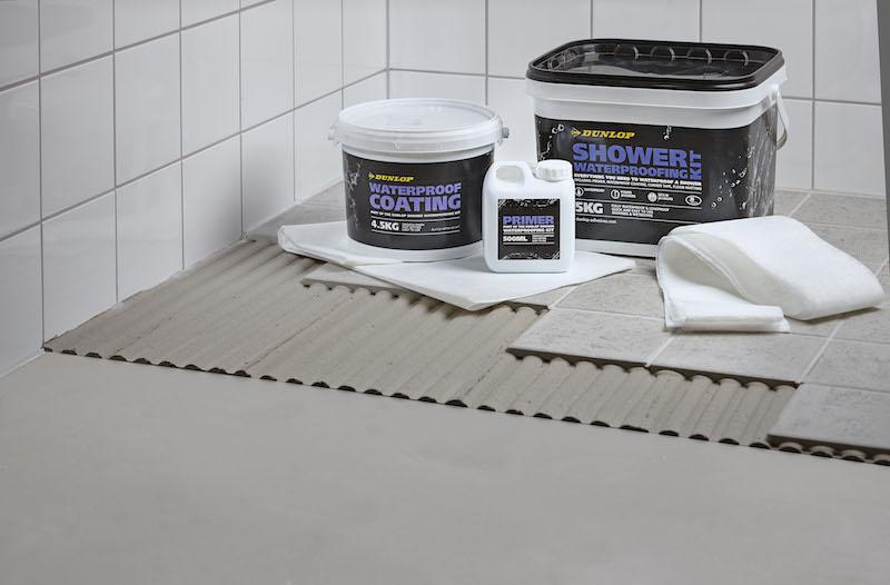 Shower waterproofing kit