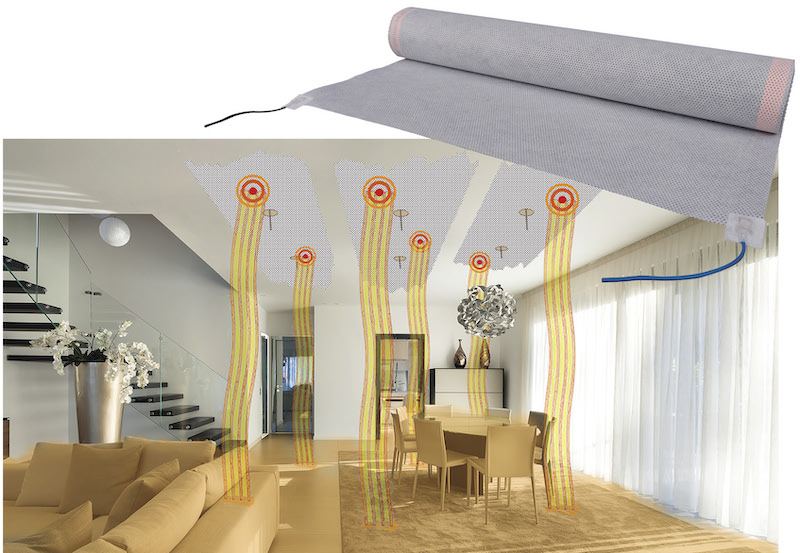 Infrared heating solution