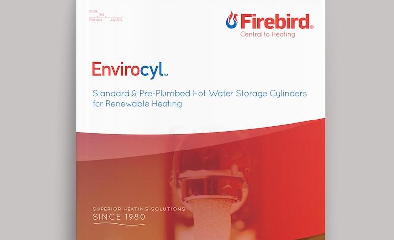 New hot water cylinder brochure from Firebird