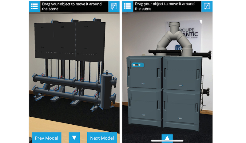 Boiler AR app updated with latest technology