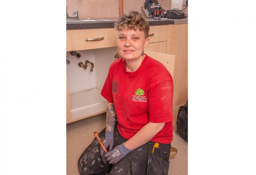 Community award for Nottingham plumbing apprentice