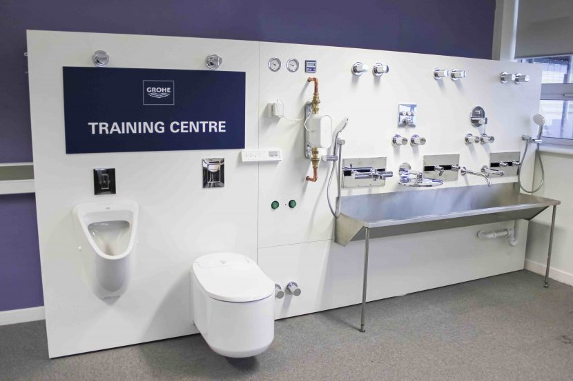 New Grohe training facility donated to plumbing students