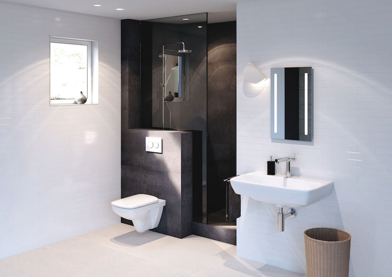 Wider selection of bathroom solutions