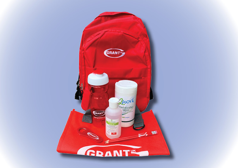 Get your summer essentials backpack from Grant