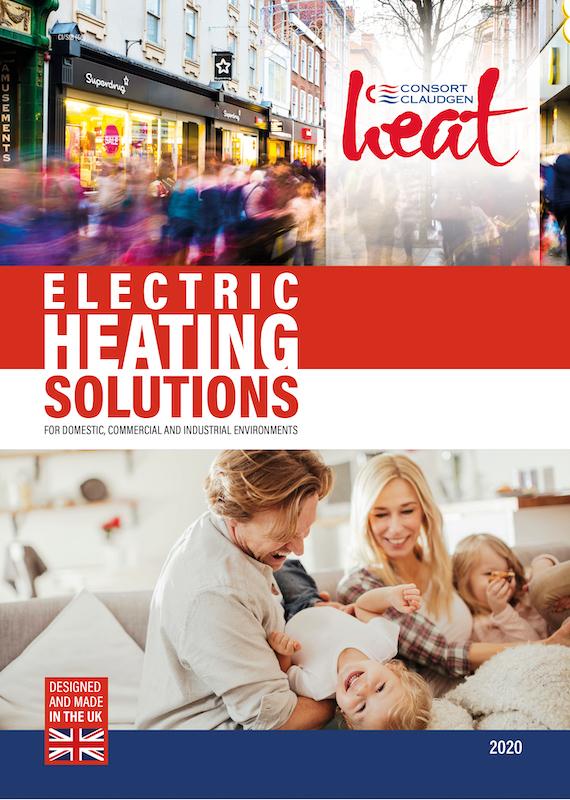 Consort Claudgen launches new electric heating brochure