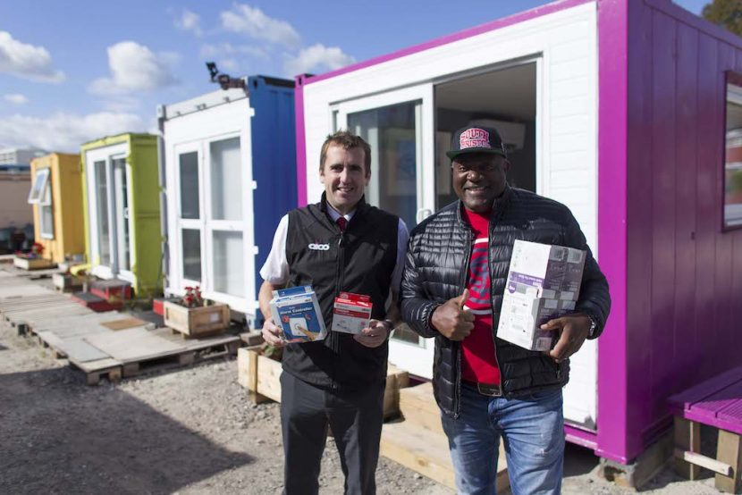 Fire and CO alarms for Bristol homeless charity