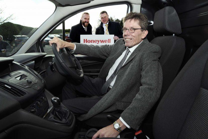 Heating engineers drive off with Honeywell's big reward