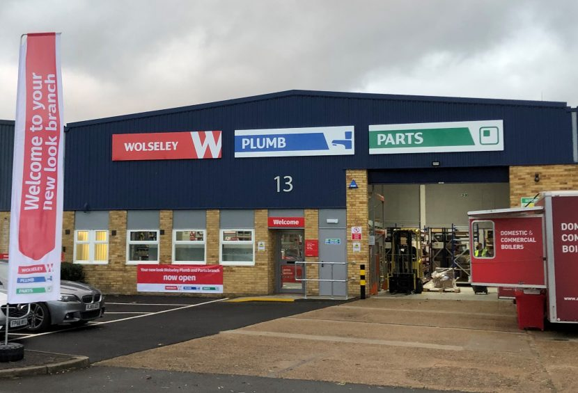 Rebranding for Wolseley branches