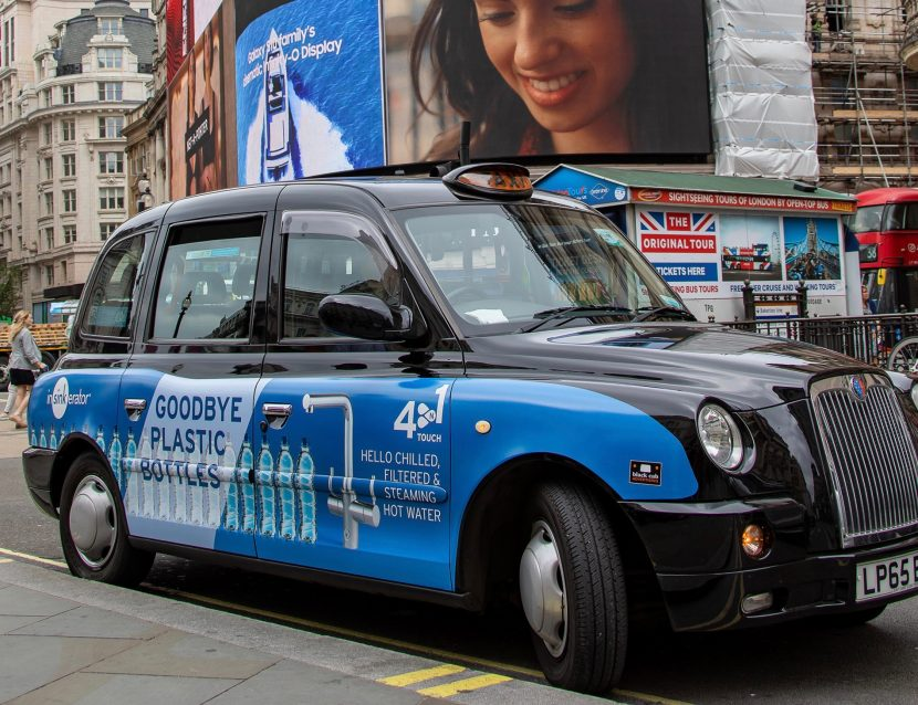 London cabs helping to promote alternative to bottled water