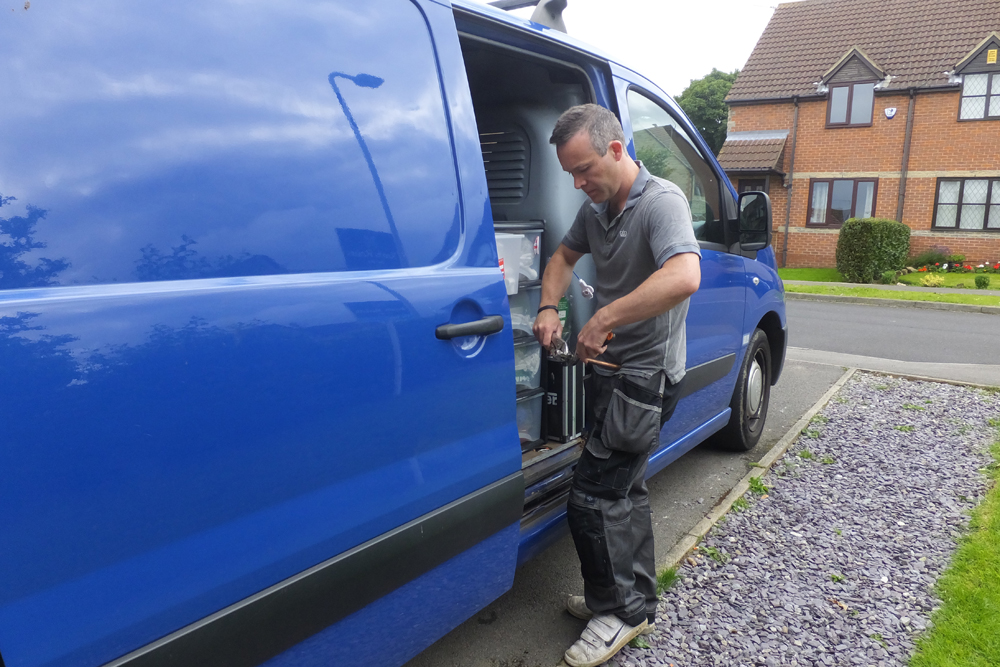 Plumber by day: Paul runs his own business, PB Plumbing