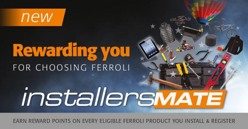 More rewards for Ferroli installers