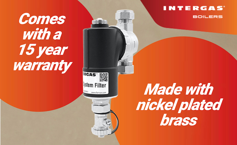 GIVEAWAY: Intergas's new system filter