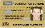 Grading Card deadline looms for Scottish plumbers
