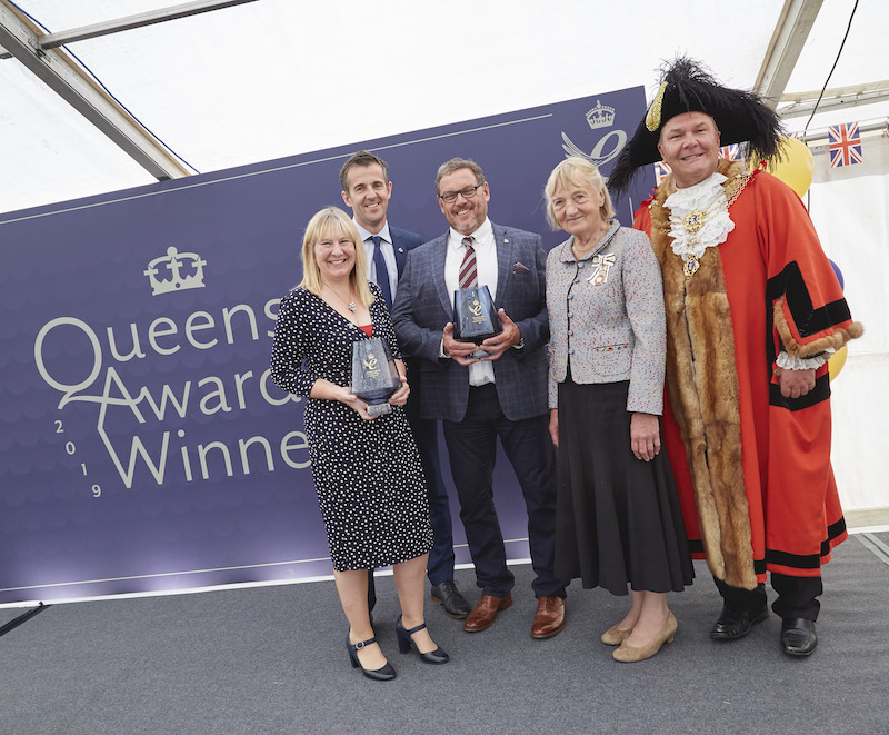 VIPs join Ideal Boilers to celebrate Queen's Award