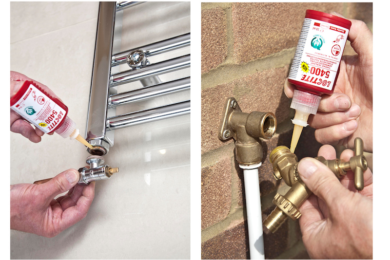 WRAS-APPROVED THREAD LOCKER AND SEALANT IS HAZARD LABEL FREE
