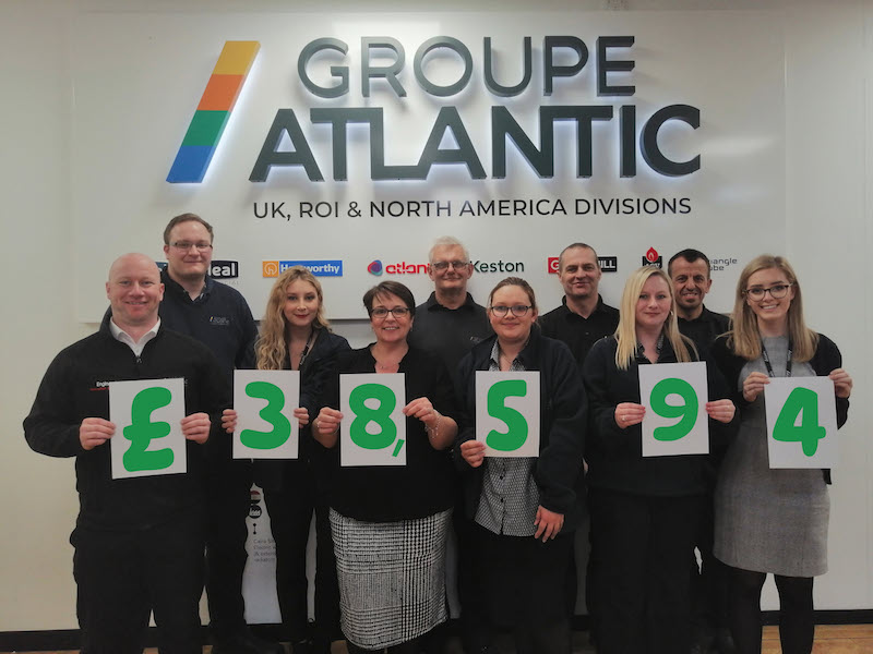 Nearly £40K raised for Macmillan Cancer Support