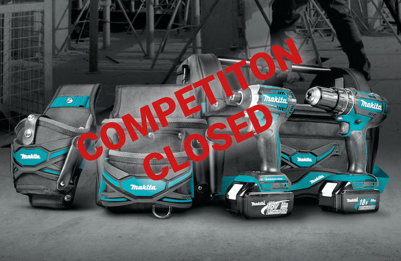 WIN! Makita tools accessories