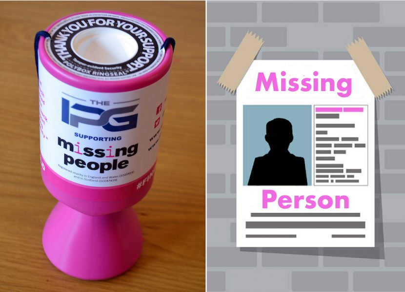 Missing People charity links with The IPG to to help bring children home