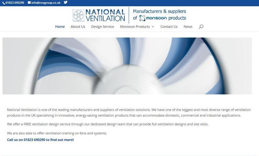 National Ventilation launches new website
