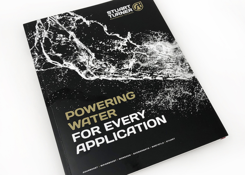 POWERING WATER FOR EVERY APPLICATION – THE NEW STUART TURNER BROCHURE