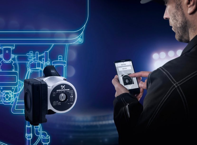 Save time on the go with new Grundfos app