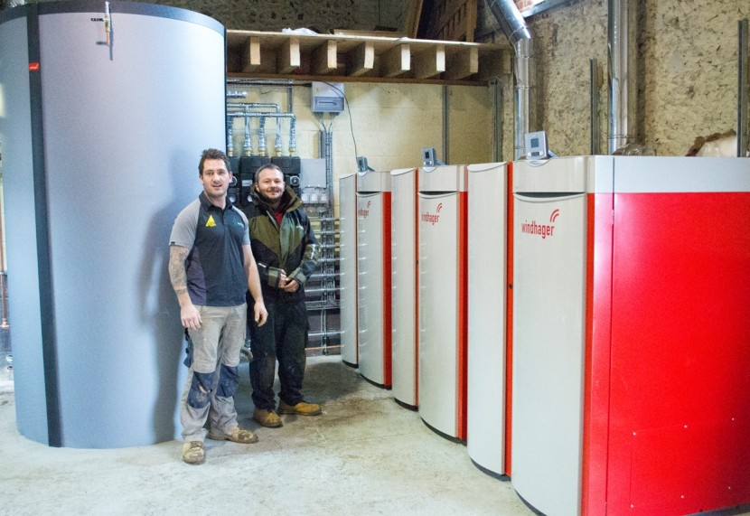 Tudor estate opts for biomass