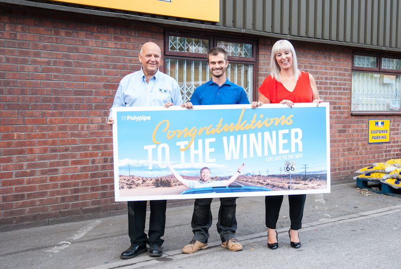 Sheffield plumber wins PolyMax competition