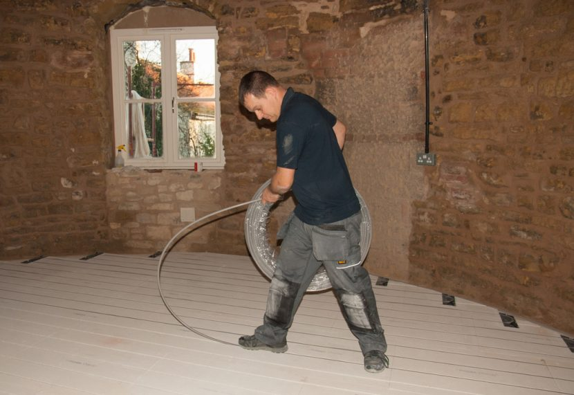 UFH delivers a 'warm feet, cool head' profile