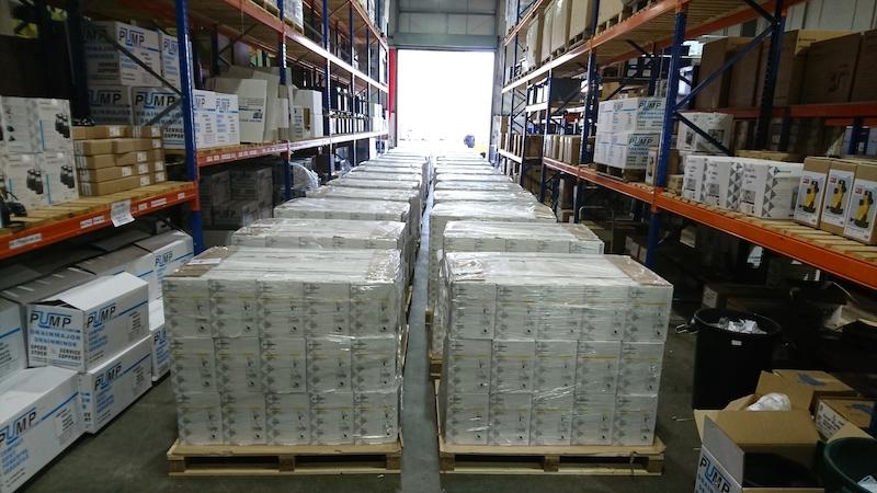 Pre-Brexit stockpiling