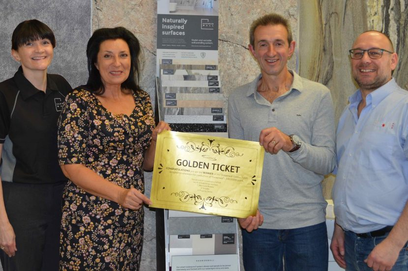 Bristol shower panel installer finds the golden ticket