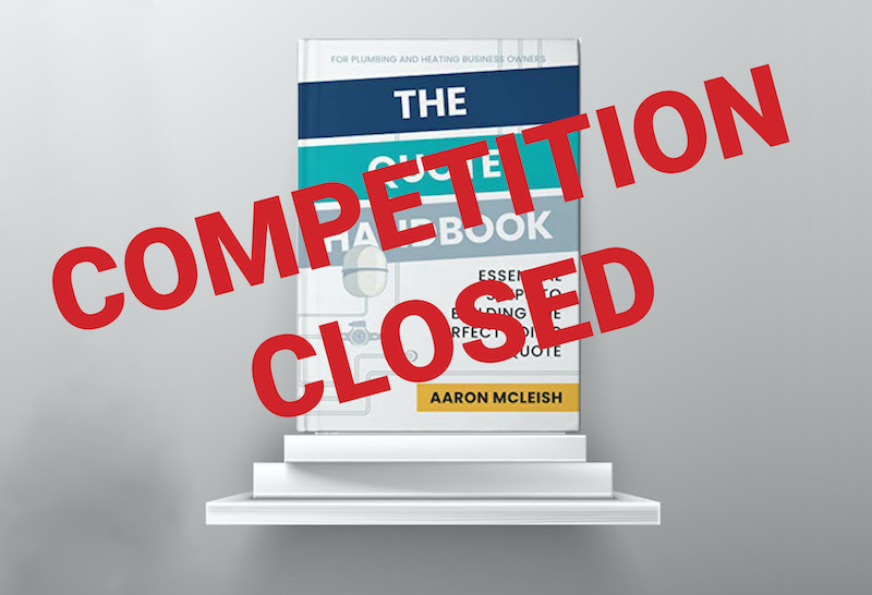 Win a book on how to make the perfect quote!